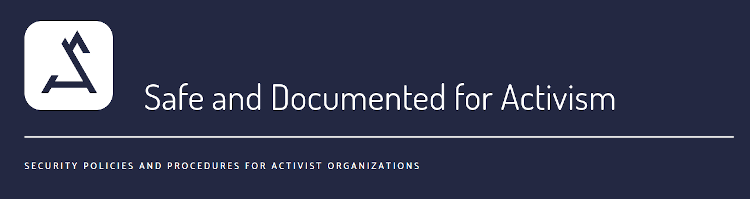 SDA: Safe and documented for activism | SDA: Seguros y documentados para el activismo feature image